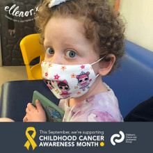 Childhood Cancer Awareness Month: Helping to smooth the path for treatment...