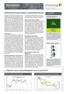 Barometer: Optimistisk Draghi udløser markedskorrektion