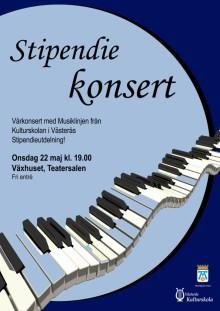 Musikstipendier vid Västerås Kulturskola