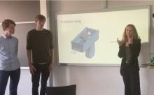 Elever fra H.C. Ørsted Gymnasiet i DM-finale med grøn teknologi