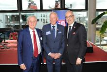 Deutsch-schwedische Freundschaft: Stena Line feiert 50-jähriges Jubiläum der Route Kiel-Göteborg am Schwedenkai in Kiel