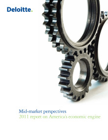 Report on America's economic engine, Mid-market Perspectives 2011
