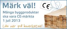 Prestandadeklaration och CE-märkning före 1 juli 2013!