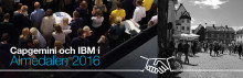 Träffa Capgemini och IBM i Almedalen