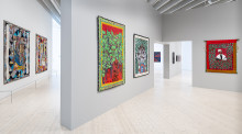 Ringgold, Sansour och Cyrén när Bildmuseet öppnar igen