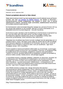 Feste Fehmarnbelt-Querung: Dänemark vor milliardenhohem Schuldenberg