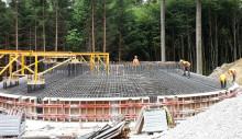Bau des Windparks Gerolsbach mit großem Fortschritt