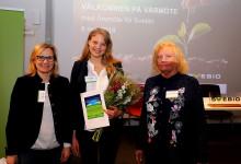 David Frykerås och Elin Ledskog är årets mottagare av Jan Häckners bioenergipris