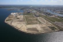 International logistics company creating sustainable transportation in Malmö port