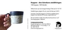"""MALMÖ: Vernissage för """"Koppen  – den kännbara utställningen"""""""