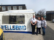 Police trial innovative 'Wellbeing Van' to support officers & staff across the Force