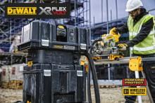 Uusi akkukäyttöinen pölynpoistolaite - 54V XR FLEXVOLT teknologialla