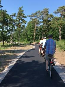Kattegattleden presenterade årets nyheter på Internationella Cykeldagen