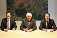 Bischberg und Bayernwerk Netz bleiben Partner bei der Gasversorgung