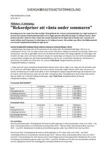 """Mäklare i Linköping: """"Rekordpriser att vänta under sommaren"""""""