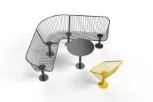 Nola visar möbler för stadsmiljö på Elmia Park
