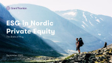 ESG in Nordic Private Equity