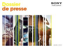 Dossier de presse Sony - Avril 2012