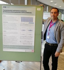 Postersession auf dem NOUV-Kongress 2019