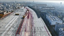 Deutsche Bahn awards first two contracts for main construction works on Munich's second core route