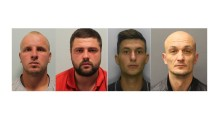 Four men jailed for raping woman in Ealing