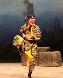 Apkungen är på besök - En föreläsning om clowner i Pekingoperan av Yan Qinggu