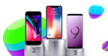 TOP 10: De mest populære mobiler i marts