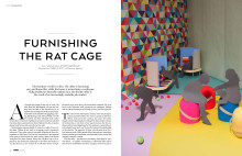 "ARTICLE FORM MAGAZINE #2 2015: ""Furnishing the rat cage"""