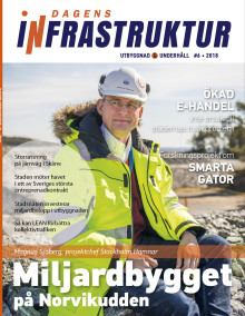 Nya numret av Dagens Infrastruktur nr 6 2018 ute nu!