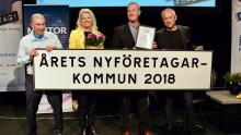 Åtta tävlar om att bli Årets nyföretagarkommun 2019