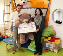 Statt Weihnachtspräsente gibt die Ferchau GmbH eine Spende für Bärenherz
