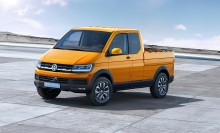 Volkswagen unveils new TRISTAR pick-up concept at IAA commercial vehicle show in Hanover