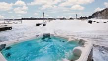 Ny SPA-pool på bryggan