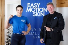 "Unternehmer Christian Jäger etabliert mit EasyMotionSkin ein EMS Premiumprodukt ""made in Germany"" am internationalen Markt"