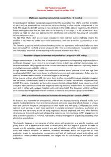 Ämnen - Läkare Utan Gränsers konferens i pediatrik