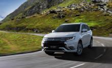 Världspremiär för nya Mitsubishi Outlander Plug-In Hybrid i Genéve