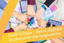 Studi'O Days 2021 – die digitale Studienorientierungswoche der staatlichen brandenburgischen Hochschulen