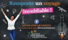 Lancement de l'édition 2017 des DStv Eutelsat Star Awards et de sa page Facebook !