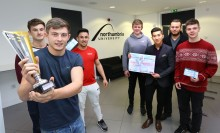 Newcastle Business School entrepreneurs lift top national accolade