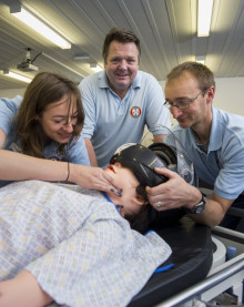 Rescue workers undergo emergency training at Northumbria