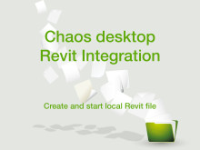 Så kan Chaos desktop användas ihop med Revit och BIMeye
