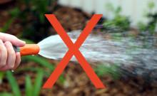 Bevattningsförbud i Billinge och Stockamöllan