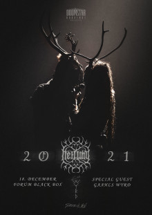 Heilung i Forum Black Box 18. december 2021