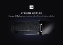 d3 präsentiert neuen Medienserver - 2x4pro ist das neue Einstiegsmodell für vollen d3-Leistungsumfang