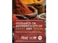 Ny vägledning  - Guidance on authenticity of herbs and spices