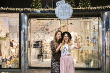 dm und Langhaarmädchen eröffnen Pop-Up-Store in Münchner Hofstatt