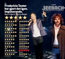 Fredericia Teaters musical SEEBACH forlænges til 22. december