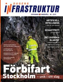 Nya numret av Dagens Infrastruktur nr 2 2019 ute nu!