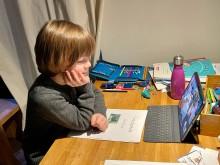 Unterricht via Bildschirm - es klappt hervorragend