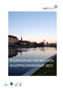 Åtgärdsplan för Malmös avloppsledningsnät